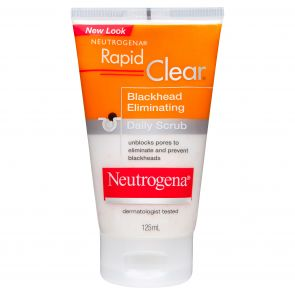 Neutrogena Rapid Clear Blackhead Emliminating Daily Scrub 125Ml