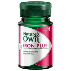 Nature'S Own Iron Chelate Plus Tablets 50Mg 50