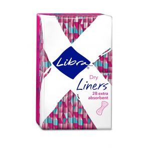 Libra Liners Extra Aborbent 28