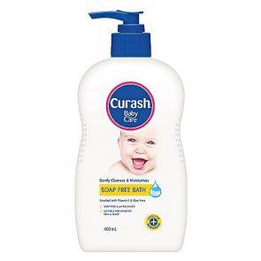 Curash Soap Free Baby Bath 400Ml