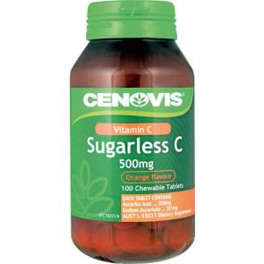 Cenovis Sugarless C 500Mg Tablets 100