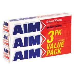 Aim Oroginal Toothpaste 90G 3