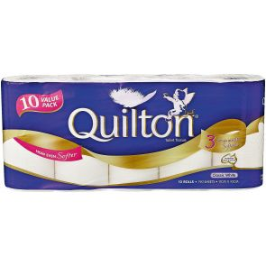 Quilton Toilet Tissues White 10