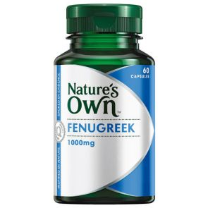 Nature'S Own Fenugreek Caps 1000Mg 60